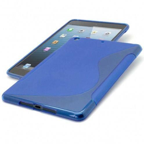 Casco iPad Mini Tpu fundamentos S-Line azul