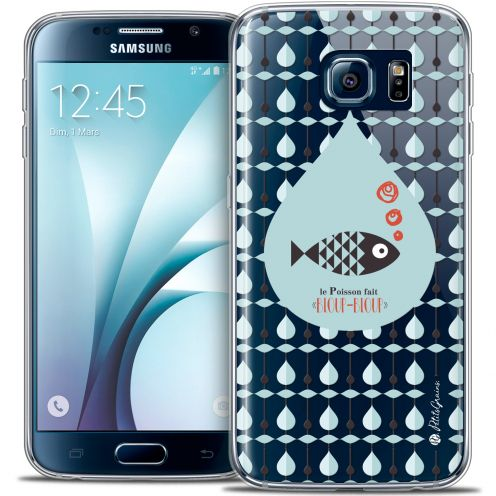 Carcasa Crystal Extra Fina Galaxy S6 Petits Grains® Le Poisson