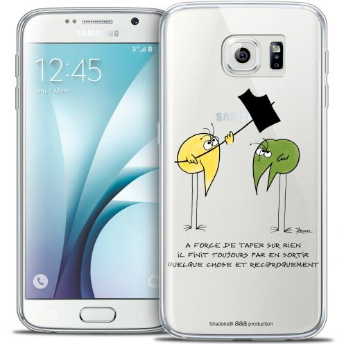 Carcasa Crystal Extra Fina Galaxy S6 Les Shadoks® A Force