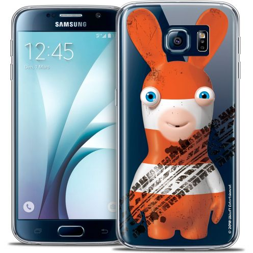 Carcasa Crystal Galaxy S6 Lapins Crétins™ On the Road