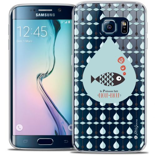 Carcasa Crystal Extra Fina Galaxy S6 Edge Petits Grains® Le Poisson