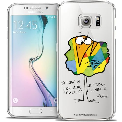 Carcasa Crystal Extra Fina Galaxy S6 Edge Les Shadoks® Chaud ou Froid