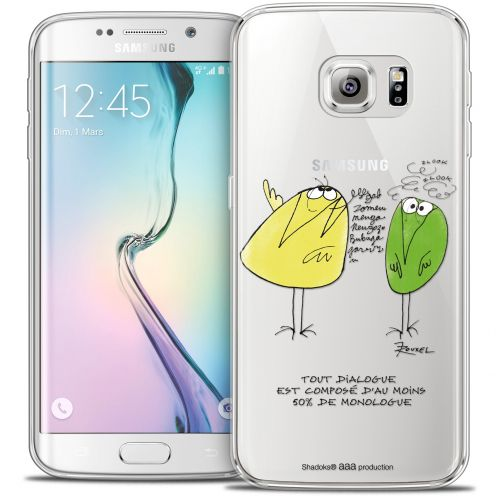 Carcasa Crystal Extra Fina Galaxy S6 Edge Les Shadoks® Le Dialogue