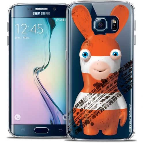 Carcasa Crystal Galaxy S6 Edge Lapins Crétins™ On the Road
