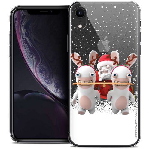 "Carcasa Crystal Gel Apple iPhone Xr (6.1"") Lapins Crétins™ Lapin Traineau"