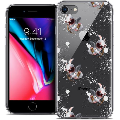 "Carcasa Crystal Gel Apple iPhone 7 (4.7"") Lapins Crétins™ Cupidon Pattern"