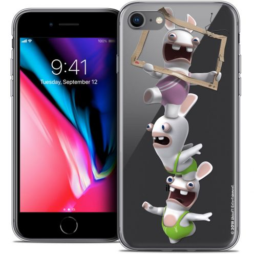 "Carcasa Crystal Gel Apple iPhone 8 (4.7"") Lapins Crétins™ TV Sport"