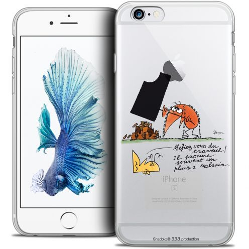 Carcasa Crystal Extra Fina iPhone 6/6s Plus 5.5 Les Shadoks® Le Travail