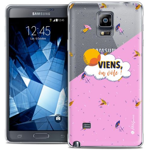 Carcasa Crystal Extra Fina Galaxy Note 4 Petits Grains® VIENS, On Vole !