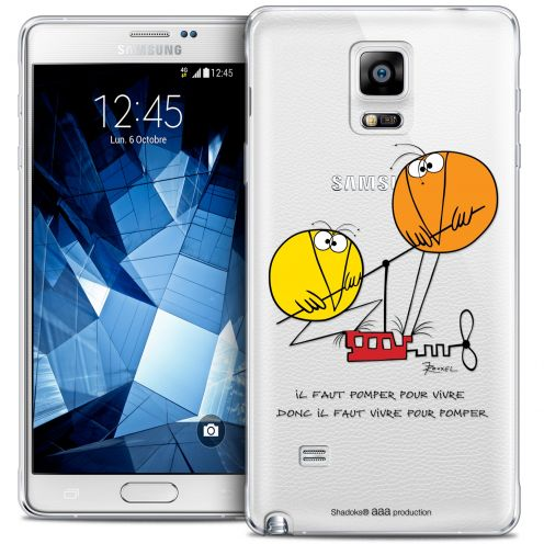 Carcasa Crystal Extra Fina Galaxy Note 4 Les Shadoks® Vivre Pour Pomper