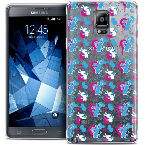 Carcasa Crystal Galaxy Note 4 Lapins Crétins™ Rugby Pattern