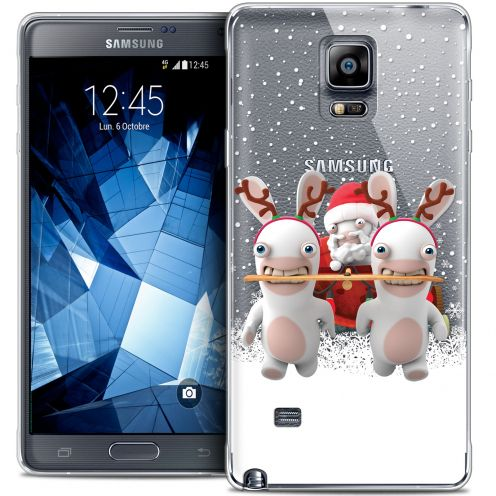 Carcasa Crystal Galaxy Note 4 Lapins Crétins™ Lapin Traineau