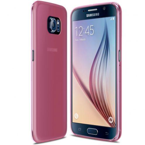 Carcasa Samsung Galaxy S6 Frozen Ice Extra Fina Gel Rosa