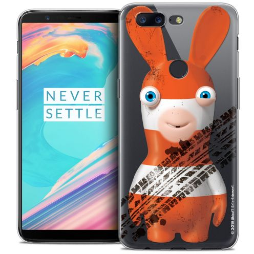 """Carcasa Crystal Gel OnePlus 5T (6"""") Lapins Crétins™ On the Road"""