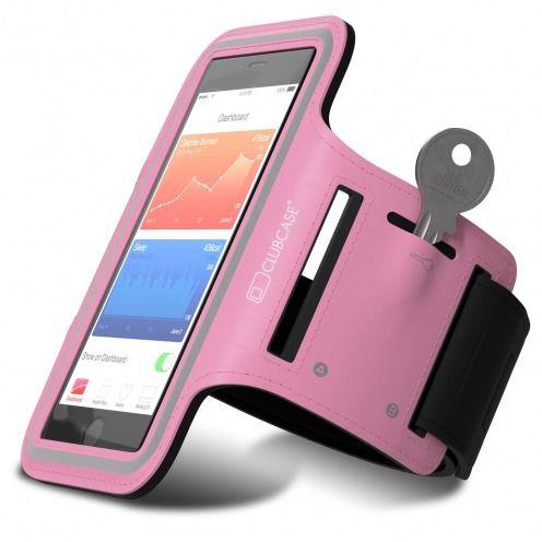 "Brazalete Clubcase® iPhone 6/6s+ Universal 4.7 a 5.5"" S/M/L Rosa"