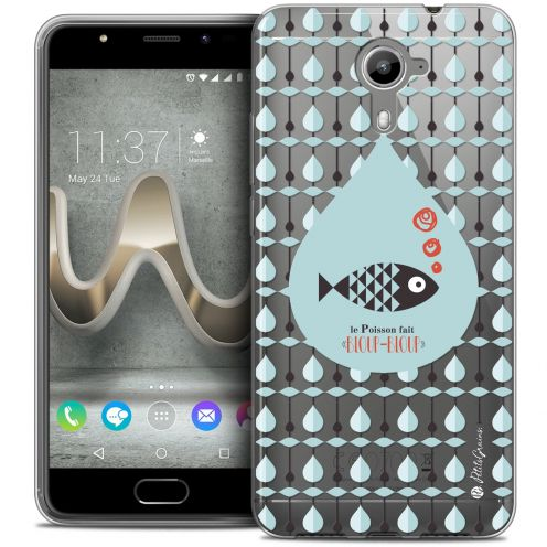 Carcasa Crystal Gel Extra Fina Wiko U Feel PRIME Petits Grains® Le Poisson