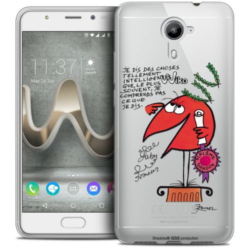 Carcasa Crystal Gel Extra Fina Wiko U Feel PRIME Les Shadoks® Intelligent