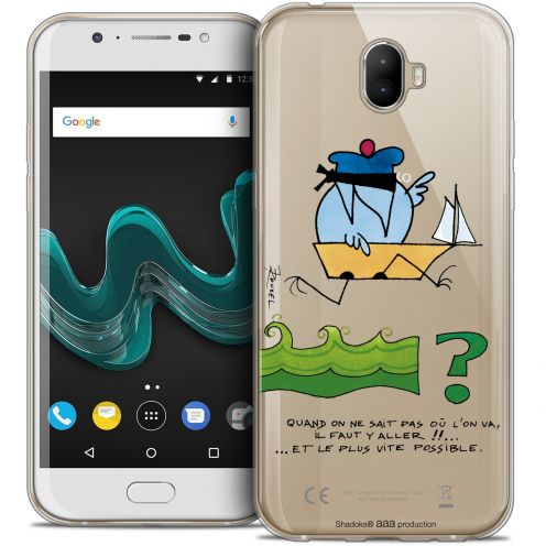 "Carcasa Crystal Gel Extra Fina Wiko Wim (5.5"") Les Shadoks® Il Faut Y Aller !!"