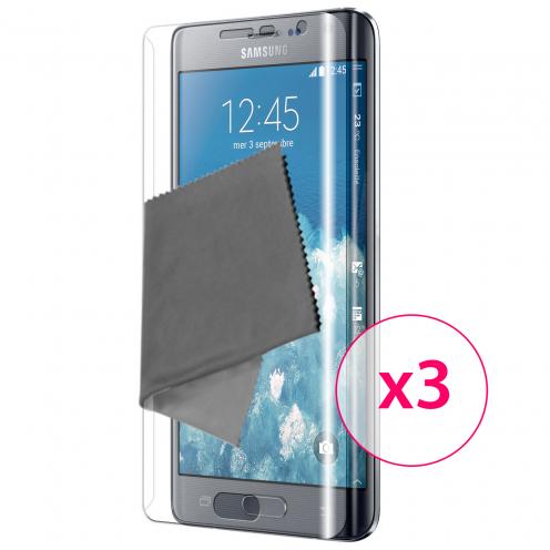 Protector De Pantalla Full Cover Samsung Galaxy Note Edge Clubcase® Ultra Clear X3