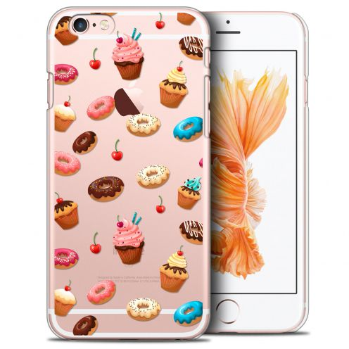 Carcasa Crystal Extra Fina iPhone 6/6s Foodie Donuts