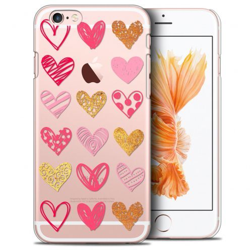 Carcasa Crystal Extra Fina iPhone 6/6s Sweetie Doodling Hearts