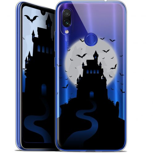 "Carcasa Gel Extra Fina Xiaomi Redmi Note 7 (6.3"") Halloween Castle Nightmare"