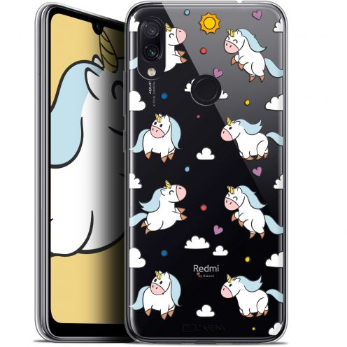 "Carcasa Gel Extra Fina Xiaomi Redmi Note 7 (6.3"") Fantasia Licorne In the Sky"