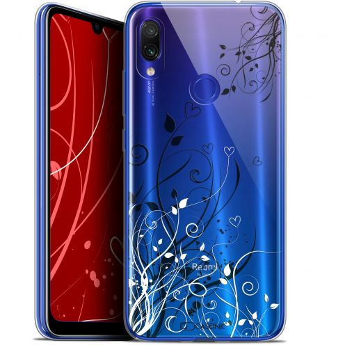 "Carcasa Gel Extra Fina Xiaomi Redmi Note 7 (6.3"") Love Hearts Flowers"