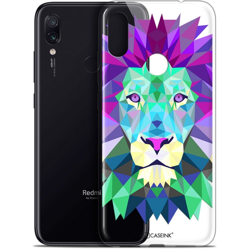"Carcasa Gel Extra Fina Xiaomi Redmi Note 7 (6.3"") Polygon Animals León"
