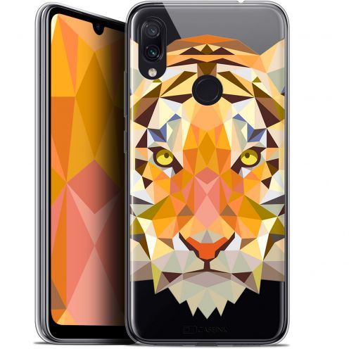 "Carcasa Gel Extra Fina Xiaomi Redmi Note 7 (6.3"") Polygon Animals Tigre"