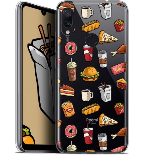 "Carcasa Gel Extra Fina Xiaomi Redmi Note 7 (6.3"") Foodie Fast Food"