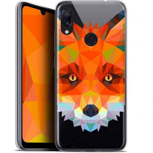 "Carcasa Gel Extra Fina Xiaomi Redmi Note 7 (6.3"") Polygon Animals Zorro"
