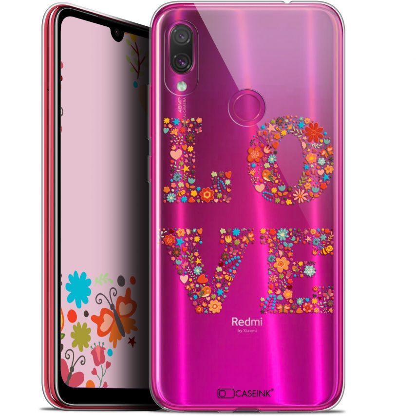 "Carcasa Gel Extra Fina Xiaomi Redmi Note 7 (6.3"") Summer Love Flowers"