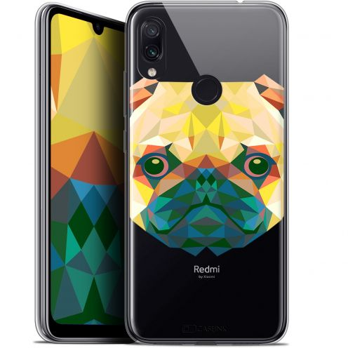 "Carcasa Gel Extra Fina Xiaomi Redmi Note 7 (6.3"") Polygon Animals Perro"