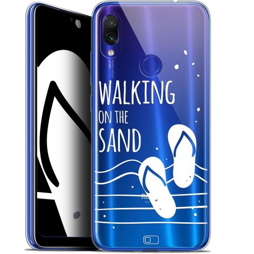 "Carcasa Gel Extra Fina Xiaomi Redmi Note 7 (6.3"") Summer Walking on the Sand"