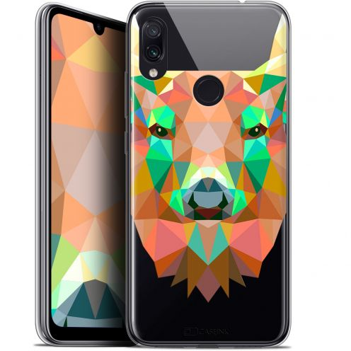 "Carcasa Gel Extra Fina Xiaomi Redmi Note 7 (6.3"") Polygon Animals Ciervo"