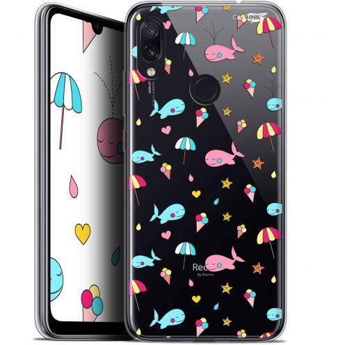"""Carcasa Gel Extra Fina Xiaomi Redmi Note 7 (6.3"""") Design Baleine à la Plage"""