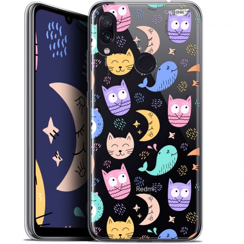"Carcasa Gel Extra Fina Xiaomi Redmi Note 7 (6.3"") Design Chat Hibou"