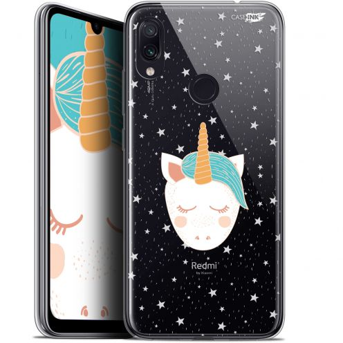 "Carcasa Gel Extra Fina Xiaomi Redmi Note 7 (6.3"") Design Licorne Dors"