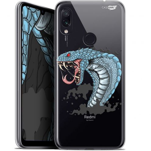 "Carcasa Gel Extra Fina Xiaomi Redmi Note 7 (6.3"") Design Cobra Draw"