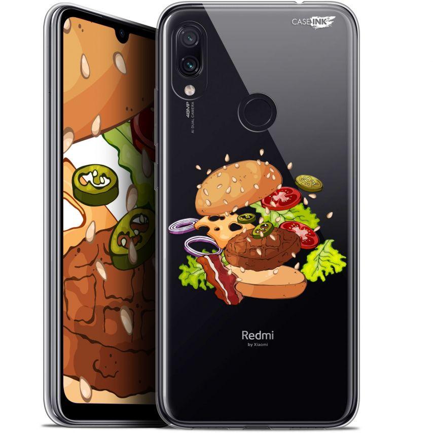 "Carcasa Gel Extra Fina Xiaomi Redmi Note 7 (6.3"") Design Splash Burger"