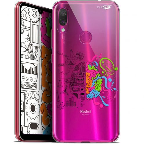 "Carcasa Gel Extra Fina Xiaomi Redmi Note 7 (6.3"") Design Le Cerveau"