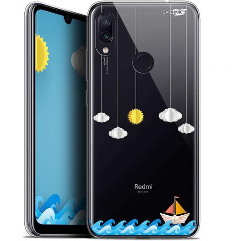 "Carcasa Gel Extra Fina Xiaomi Redmi Note 7 (6.3"") Design Petit Bateau en Mer"