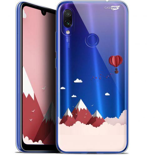 "Carcasa Gel Extra Fina Xiaomi Redmi Note 7 (6.3"") Design Montagne En Montgolfière"