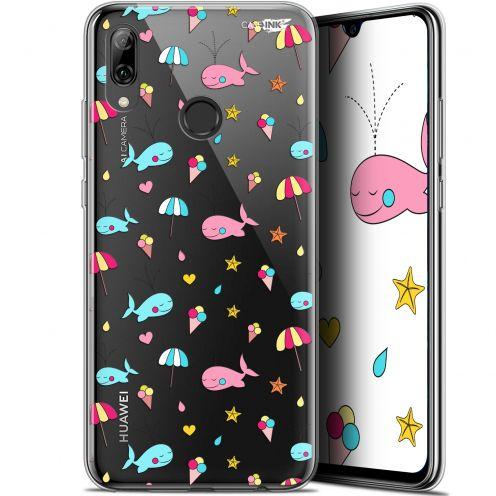 "Carcasa Crystal Gel Extra Fina Huawei P Smart 2019 (6.21"") Design Baleine à la Plage"