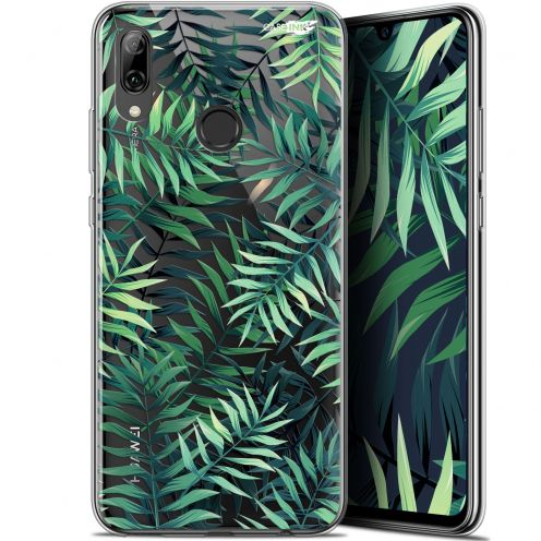 "Carcasa Crystal Gel Extra Fina Huawei P Smart 2019 (6.21"") Design Feuilles des Tropiques"