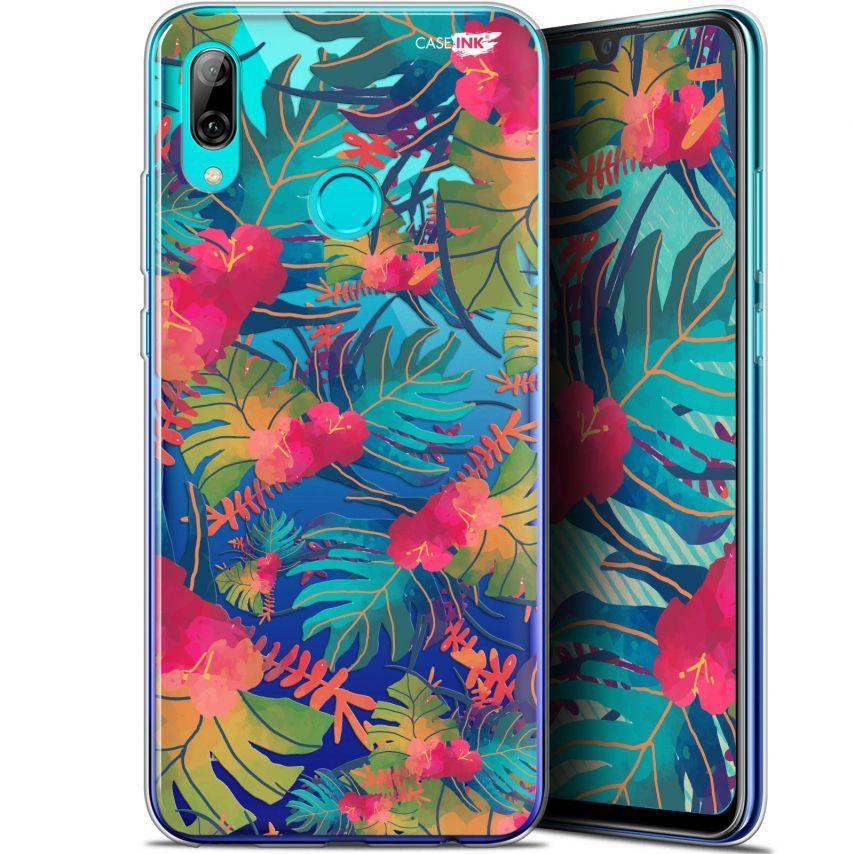 "Carcasa Crystal Gel Extra Fina Huawei P Smart 2019 (6.21"") Design Couleurs des Tropiques"
