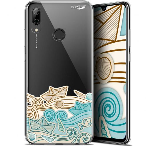 "Carcasa Crystal Gel Extra Fina Huawei P Smart 2019 (6.21"") Design Bateau de Papier"
