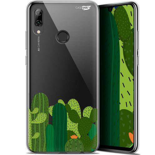 """Carcasa Crystal Gel Extra Fina Huawei P Smart 2019 (6.21"""") Design Cactus"""