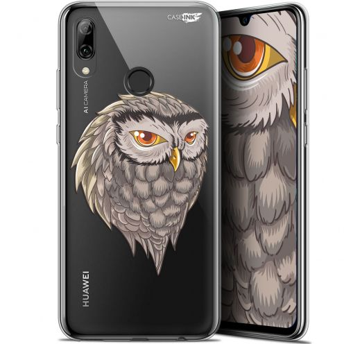 "Carcasa Crystal Gel Extra Fina Huawei P Smart 2019 (6.21"") Design Hibou Draw"